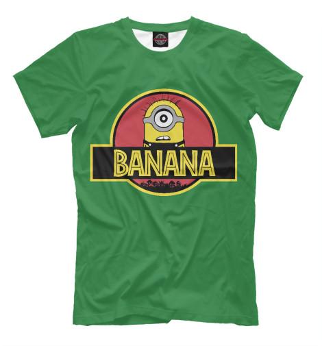 Футболка Print Bar Banana Park поло print bar damask banana