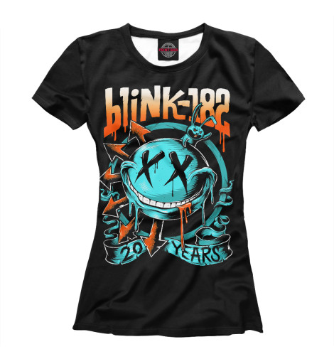 Футболка Print Bar Blink-182 свитшот print bar blink 182