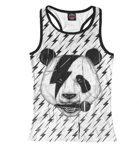 Майка борцовка Print Bar Панда вокалист майка борцовка print bar панда