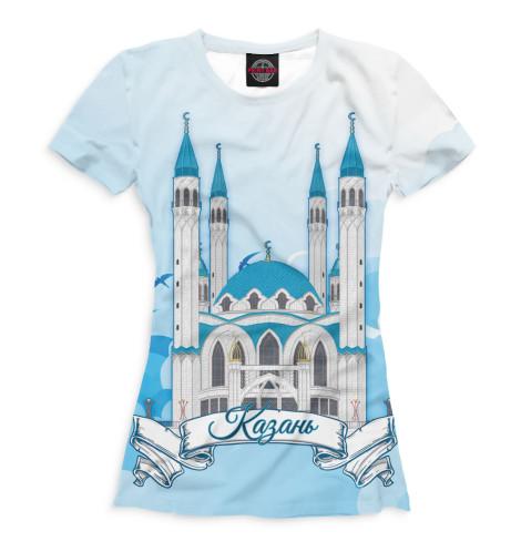 Купить Женская футболка Казань KZN-967361-fut-1