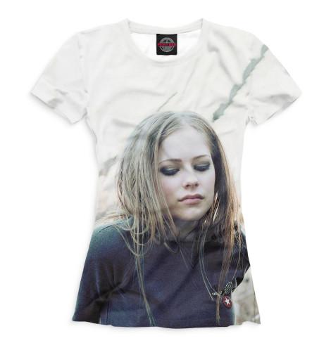 Женская футболка Avril Lavigne