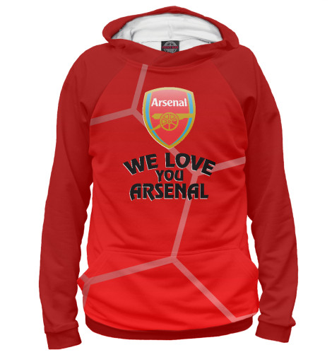 Худи Print Bar We Love You Arsenal худи print bar me love you love