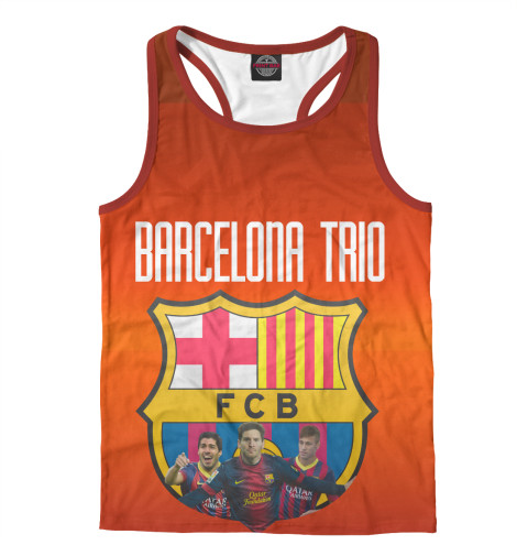 Майка борцовка Print Bar Barcelona trio поло print bar barcelona