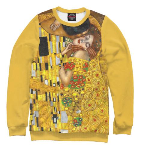 Свитшот Print Bar Густав Климт. Поцелуй женская сумка шопер с принтом коричневая коллекция elole design поцелуй густав климт нат кожа