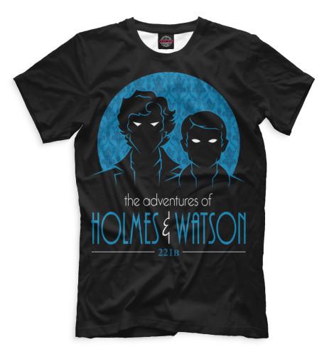 Купить Мужская футболка Шерлок SHE-113536-fut-2