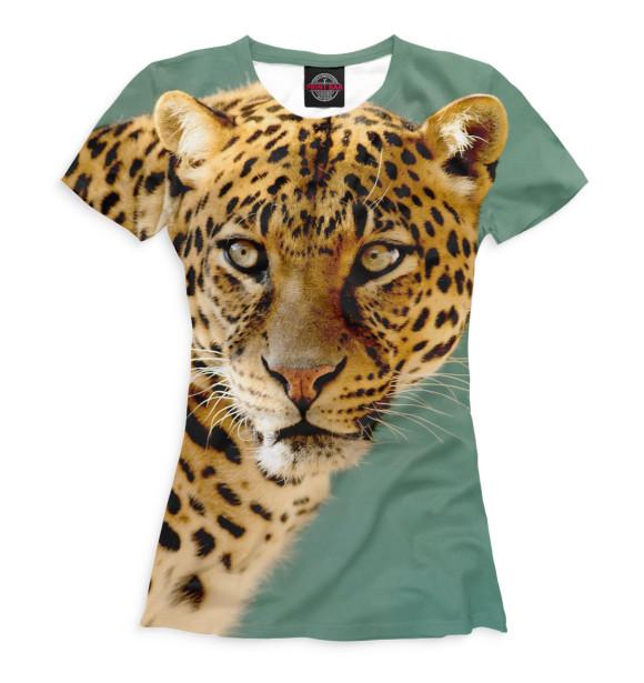 Купить Футболка для девочек Леопард HIS-952380-fut-1