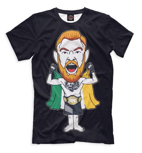Мужская футболка Конор МакГрегор MCG-919732-fut-2  - купить со скидкой