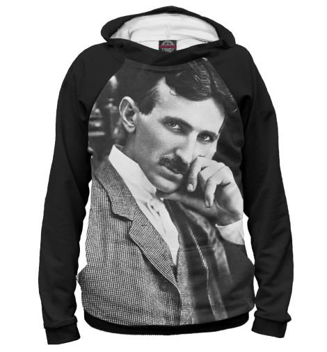 Худи Print Bar Никола Тесла никола тесла – повелитель молний научное расследование удивительных фактов