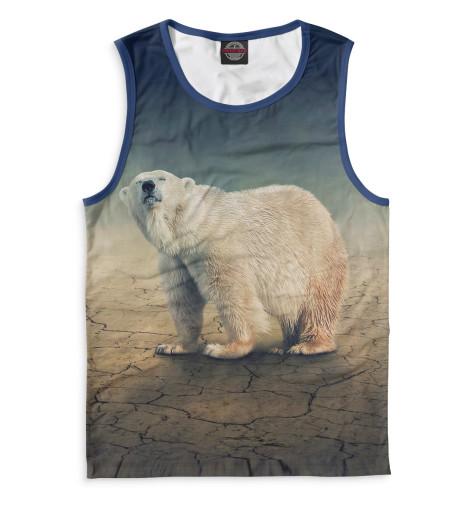 Купить Майка для мальчика Медведь MED-702387-may-2