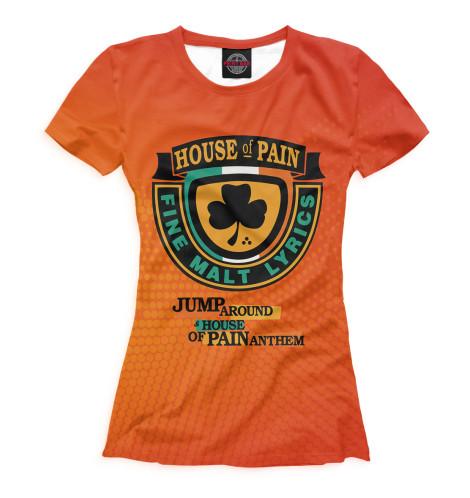 Футболка Print Bar House of Pain футболка для беременных printio house of pain