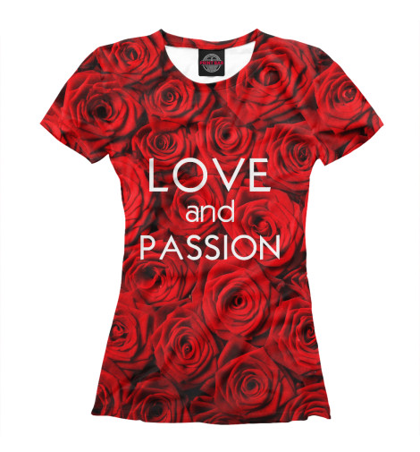 Футболка Print Bar Love & Passion max klim love passion and family in