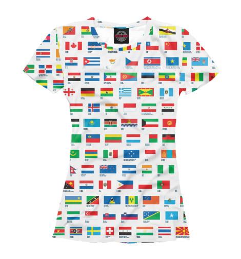 Футболка Print Bar Флаги