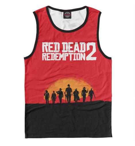 Майка Print Bar Red Dead Redemption 2 майка борцовка print bar red dead redemption 2