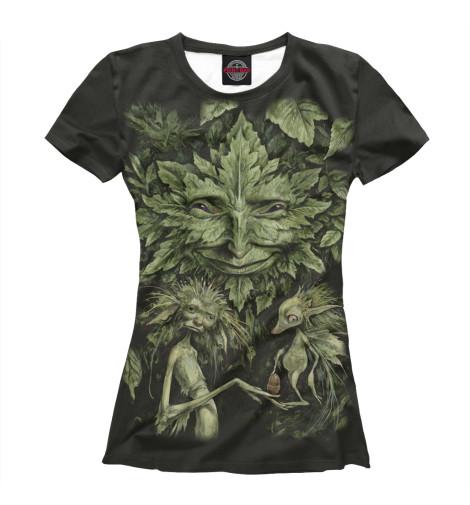 Купить Женская футболка Дух APD-195233-fut-1