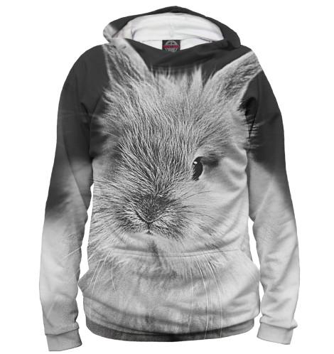 Женское худи Кролики