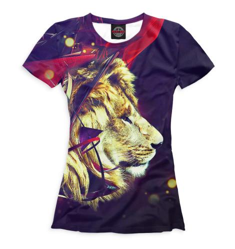 Женская футболка Львы