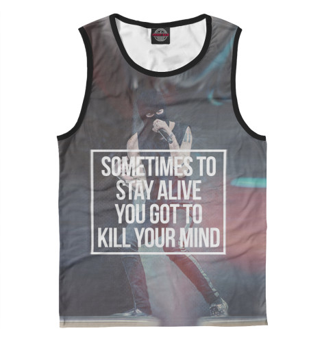 Майка Print Bar Kill your mind свитшот print bar kill your mind