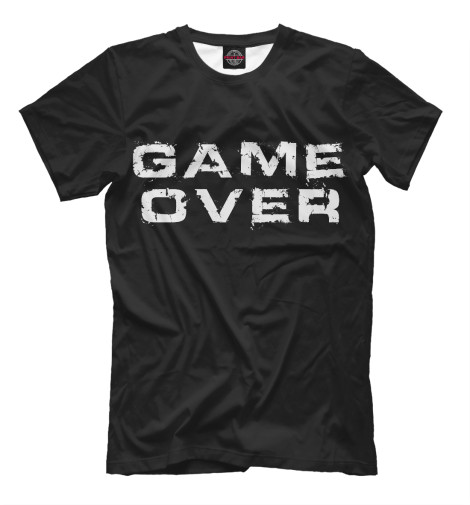 Футболка Print Bar Game Over game over