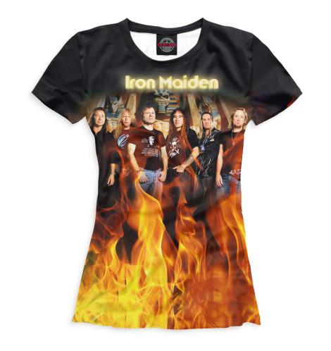 Женская футболка Iron Maiden