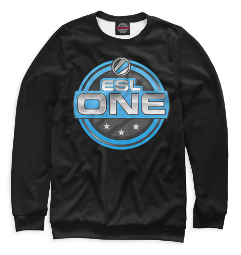 Свитшот Print Bar ESL One Logo Black