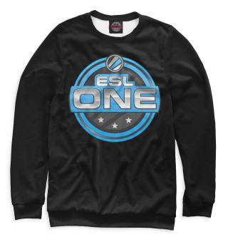 ESL One Logo Black