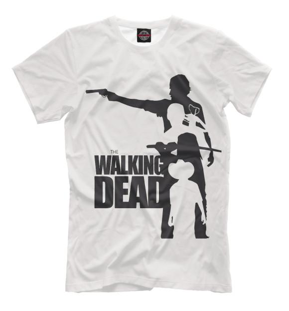 Купить Мужская футболка Ходячие мертвецы HOD-361008-fut-2