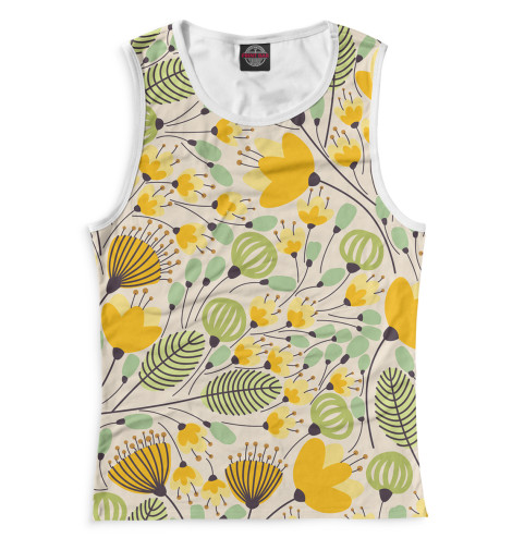 Купить Женская майка Цветы CVE-332622-may-1