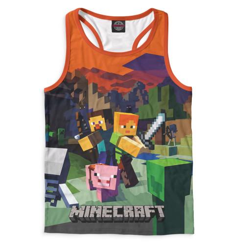 Купить Мужская майка-борцовка Minecraft MCR-556722-mayb-2