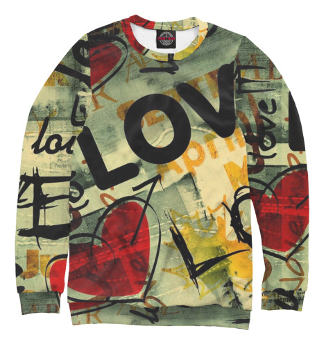 Свитшот Print Bar Love свитшот print bar love