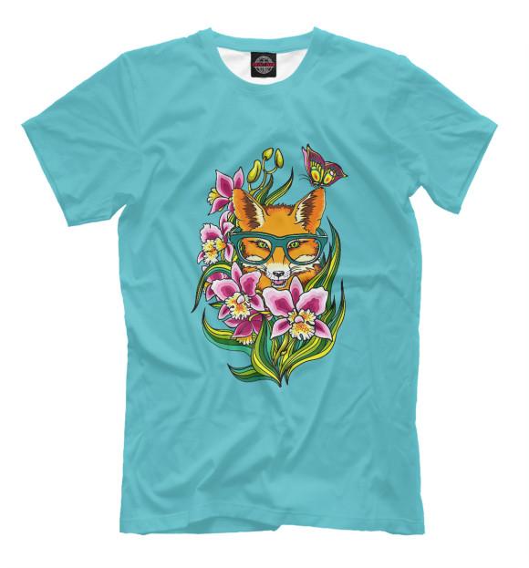 Купить Мужская футболка Лиса APD-341545-fut-2