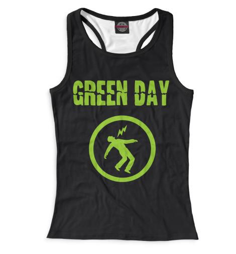 Женская майка-борцовка Green Day
