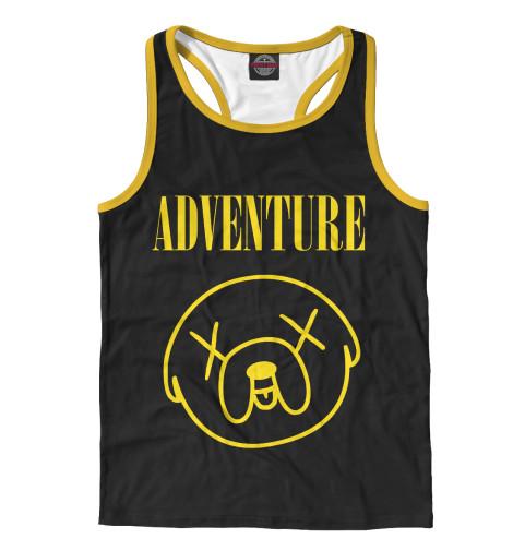 Майка борцовка Print Bar Adventure Jake худи print bar adventure fiction