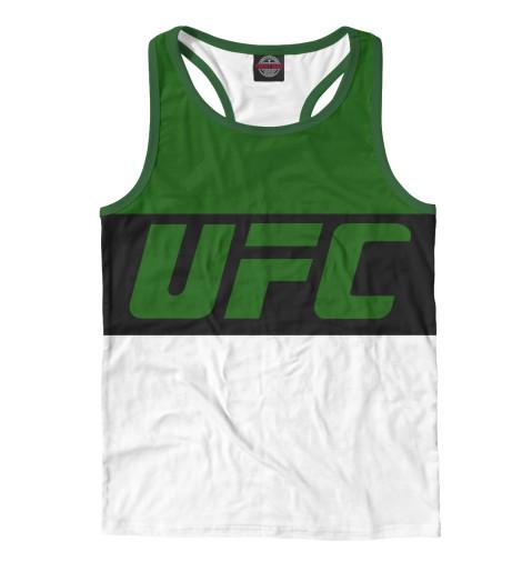 Майка борцовка Print Bar UFC GREEN майка борцовка print bar ufc logo