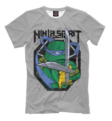 Футболка Print Bar Ninja Spirit футболка print bar celtic ninja warrior