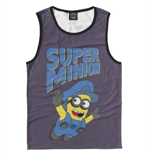 Майка Print Bar Super Minion футболка print bar super minion