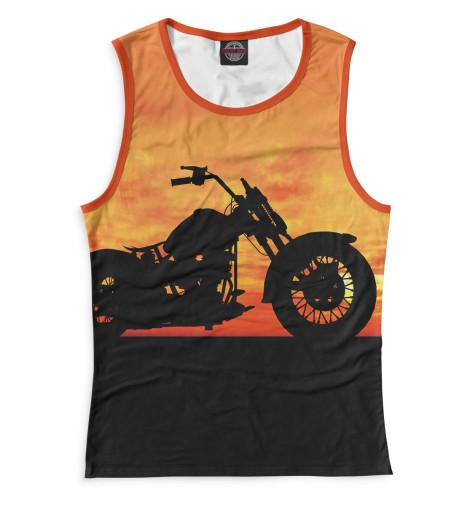 Женская майка Мотоцикл