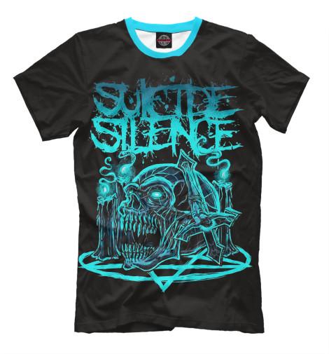 Футболка Print Bar Suicide Silence майка борцовка print bar suicide silence