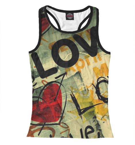 Майка борцовка Print Bar Love шлифовальная машина makita ga 9030sf01