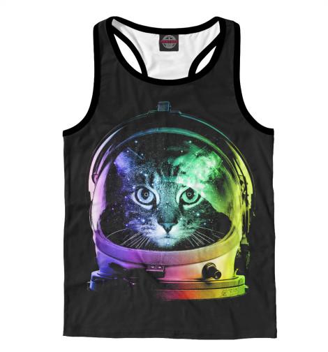 Майка борцовка Print Bar Space Cat лонгслив printio космо кот space cat page 2