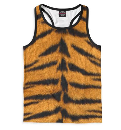 Мужская майка-борцовка Тигр