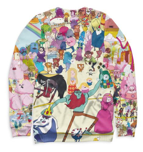 Купить Мужской свитшот Adventure Time ADV-595383-swi-2