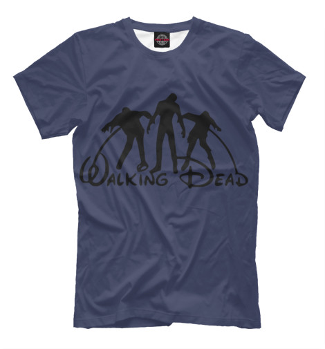 Футболка Print Bar The Walking Dead худи print bar the walking dead