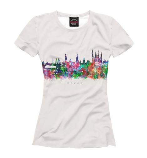 Купить Женская футболка Казань KZN-289996-fut-1