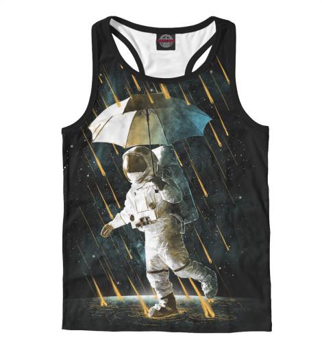 Майка борцовка Print Bar Космический дождь