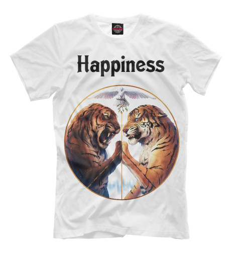 Футболка Print Bar Happiness happiness basics толстовка
