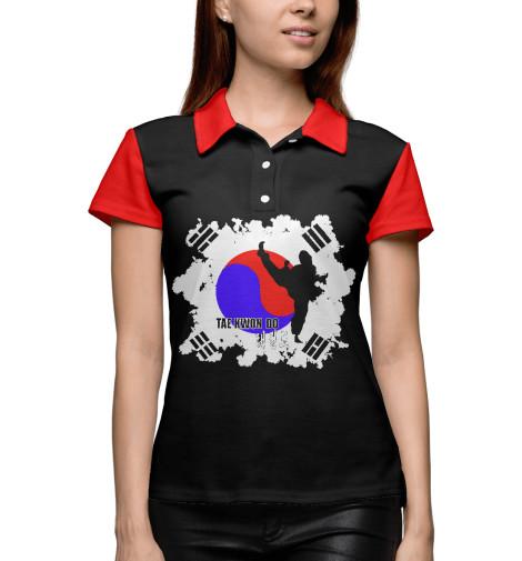 Поло Print Bar Taekwondo Korea