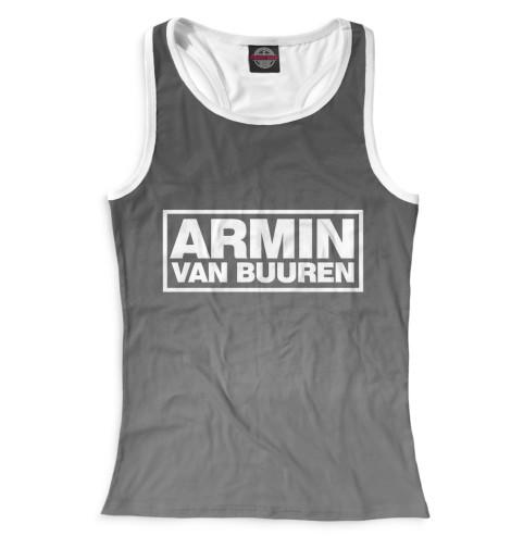 Женская майка-борцовка Armin van Buuren