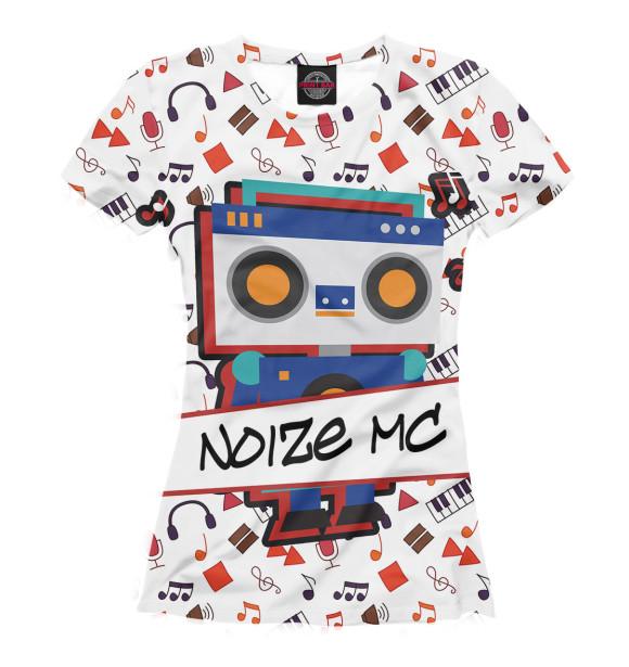 Купить Женская футболка Noize MC NMC-956887-fut-1