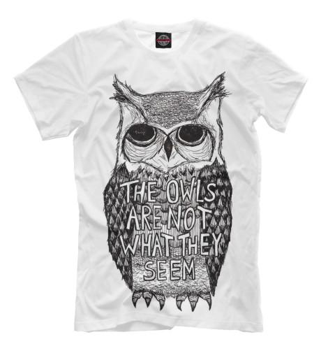 Футболка Print Bar Сова футболка wearcraft premium printio сова сова