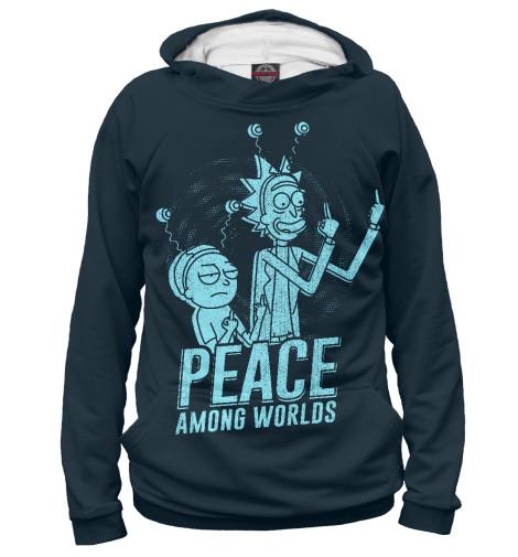 Мужское худи Peace among worlds! RNM-100661-hud-2  - купить со скидкой